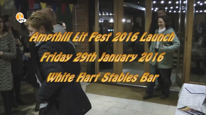 2016 Ampthill Lit Fest Launch Party