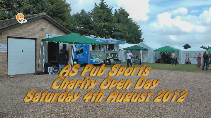 AS Pub Sports Charity Open Day