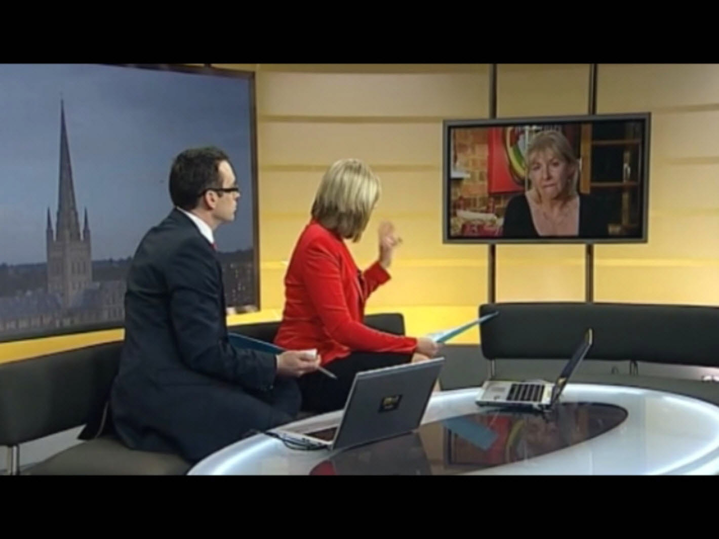 MP Dorries interview on ITV Anglia