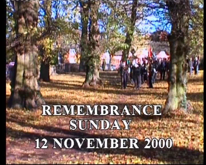 Remembrance Day 2000